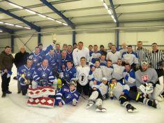 Hokejový turnaj o pohár starostu obce Čaňa p. M.Rečku..január 2017